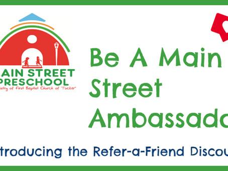 Be A Main Street Ambassador