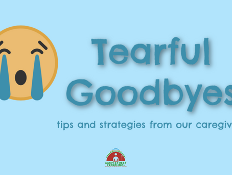 Tearful Goodbyes