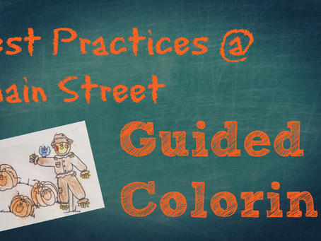 Best Practices: Guided Coloring