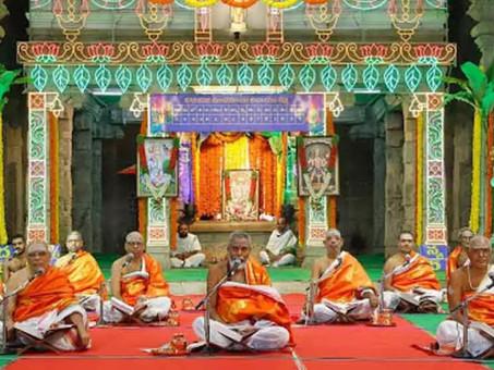 తిరుమలలో ప్రారంభమైన షోదసదీన సుందరఖండ పారాయణం, తొలిరోజు 269 శ్లోకాలు పారాయణ చేశారు.