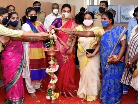 శ్రీ సిటీ పోలీస్ స్టేషన్ లో మహిళా హెల్ప్ డెస్క్ ప్రారంభం