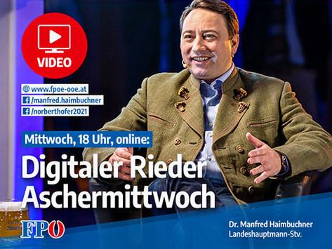Rieder Aschermittwoch online