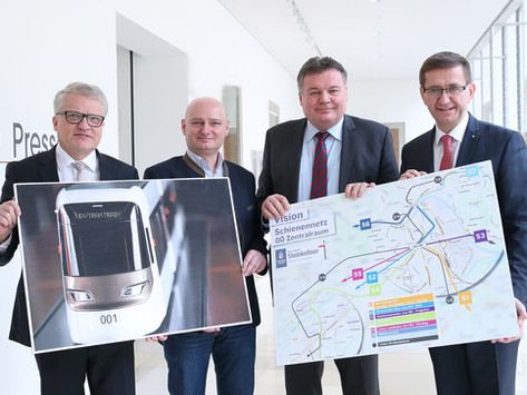 Leonding als Teilstück der neuen Linzer Stadtbahn 2026/27 (Titelbild Quelle: Land OÖ/Sabrina Liedl)