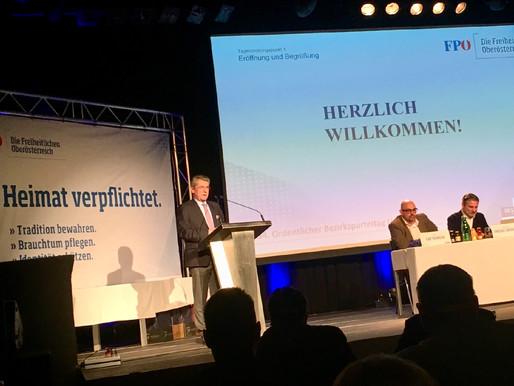 34. ordentlicher Bezirksparteitag FPÖ Linz-Land