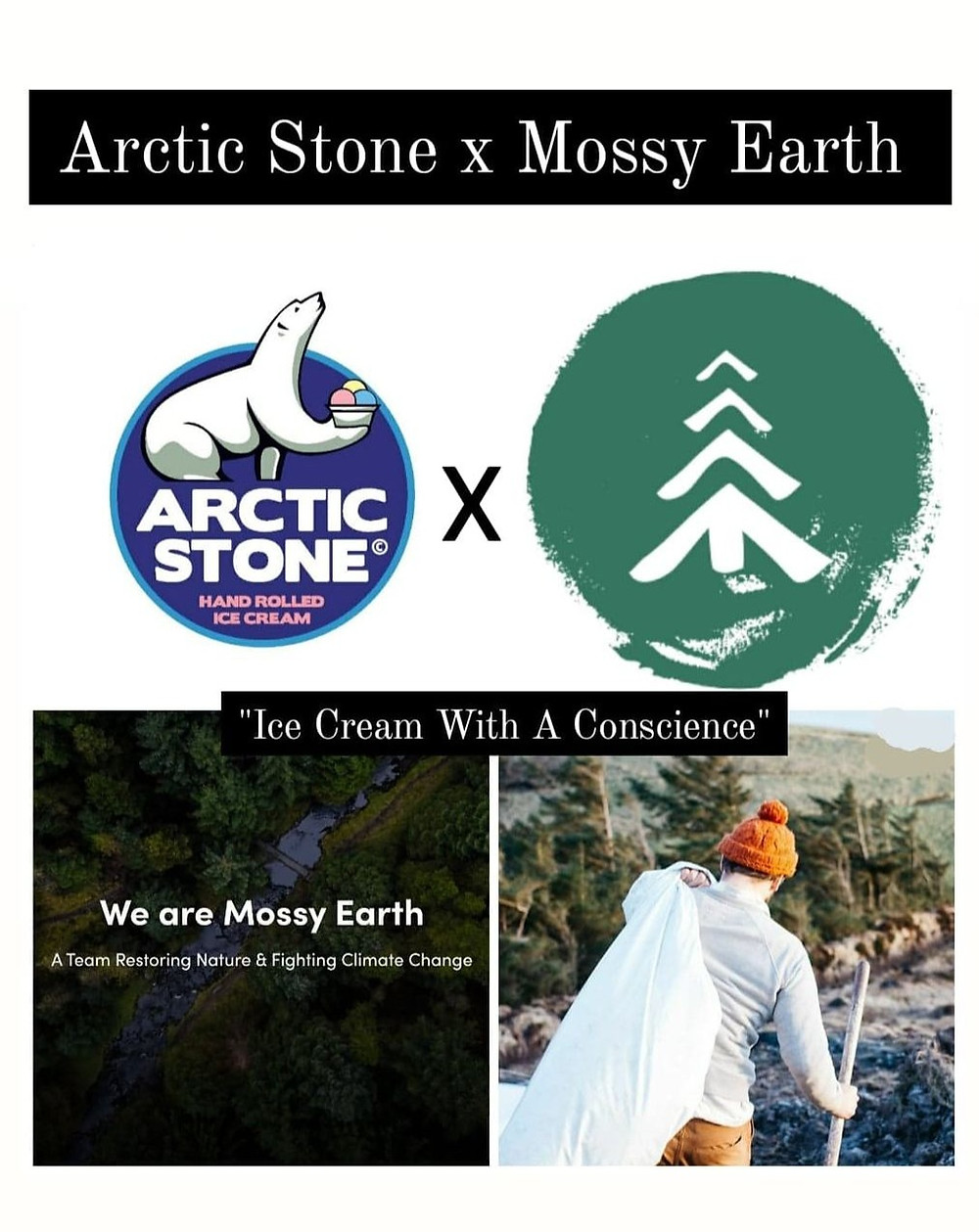 Arctic Stone x Mossy Earth - Irish Reforestation Campaign