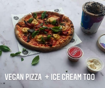 vegan-wood-fired-pizza-and-vegan-ice-cream-with-vegan-dips