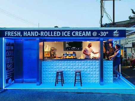 Arctic Stone Hand Rolled Ice Cream: From Asia to Éire - Our Origin Story
