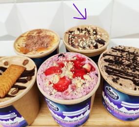 Vegan-Peanut-Butter and dark-chocolate-icecream