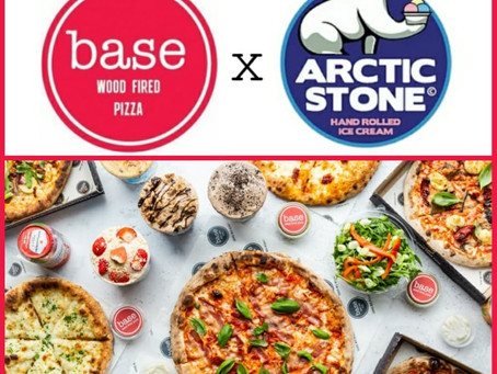 Arctic Stone Ice Cream & Base Wood Fired Pizza? Yes please!