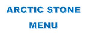 Arctic Stone: Our Main Menu - Hand Rolled Ice Cream, Cookies, Hot Fudge Brownies, Cheesecake & More