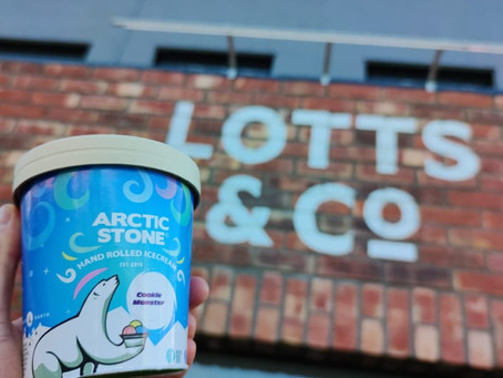 Arctic Stone Hand Rolled Ice Cream - We've landed our first retail location @ Lotts & Co