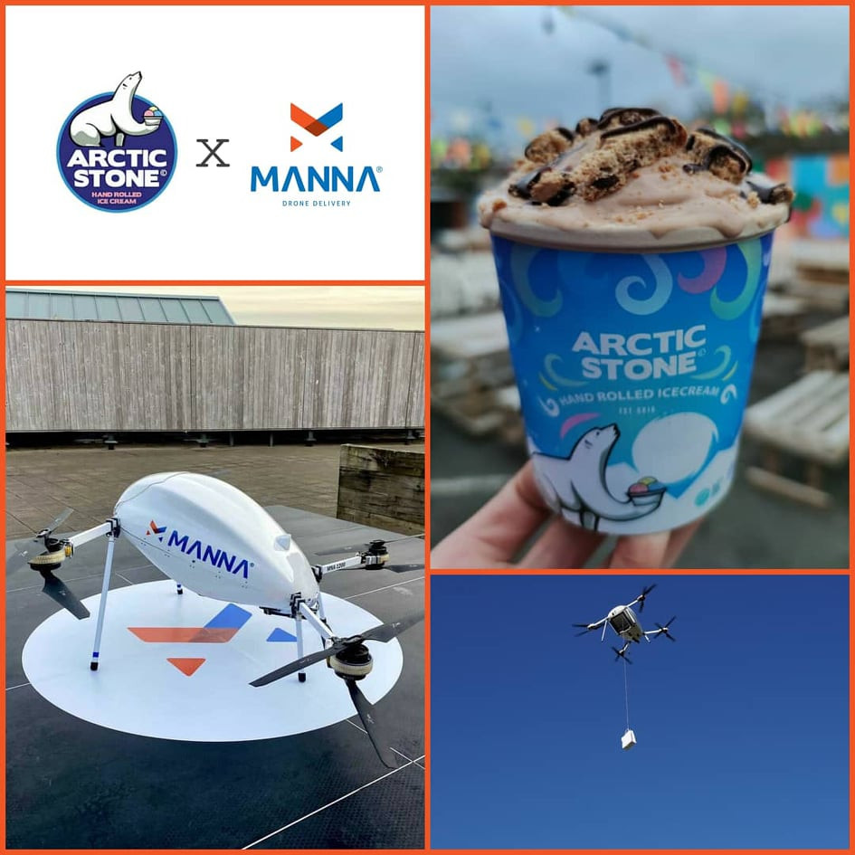 Arctic-stone-manna-drone-delivery-collaboration