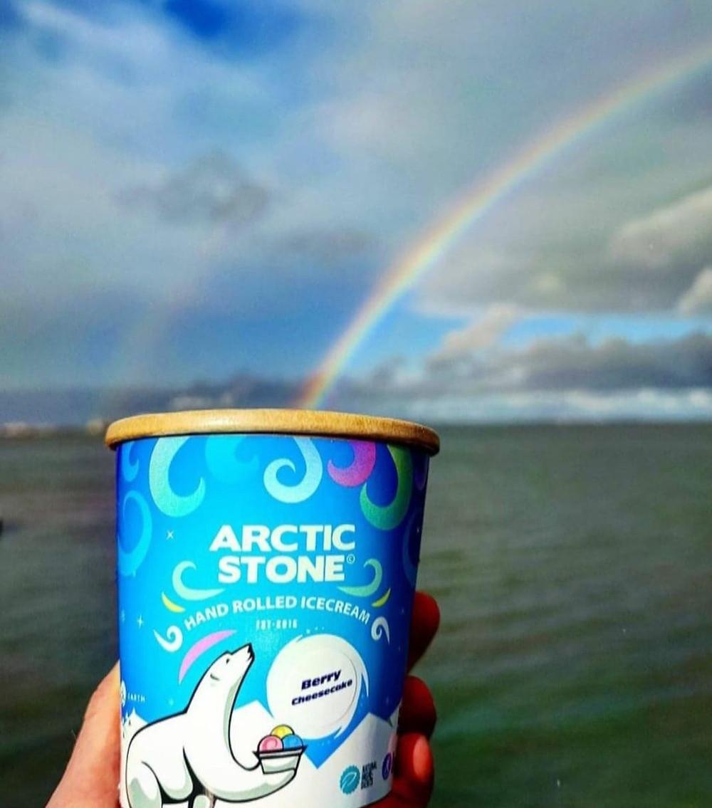 Arctic Stone Biodegradeable Ice Cream Tubs