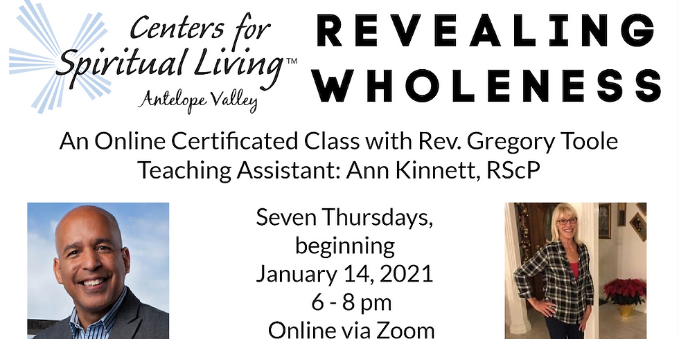 Revealing  Wholeness