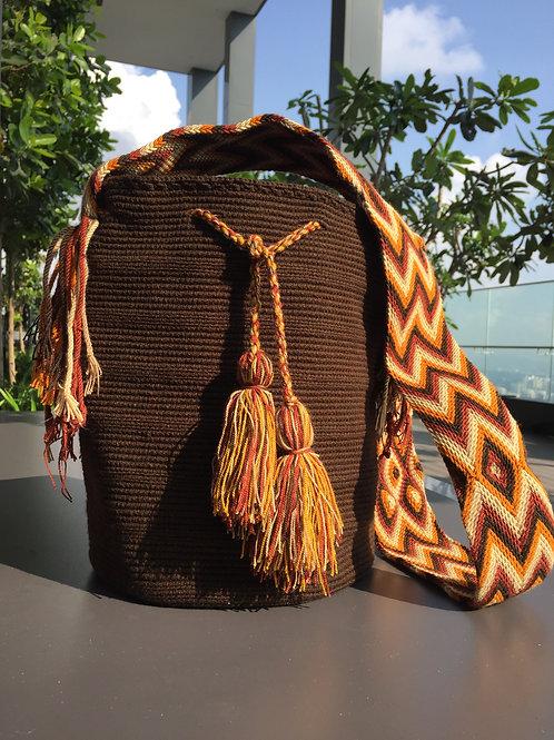 Brown, Red, Amber - Arijuna Handbag