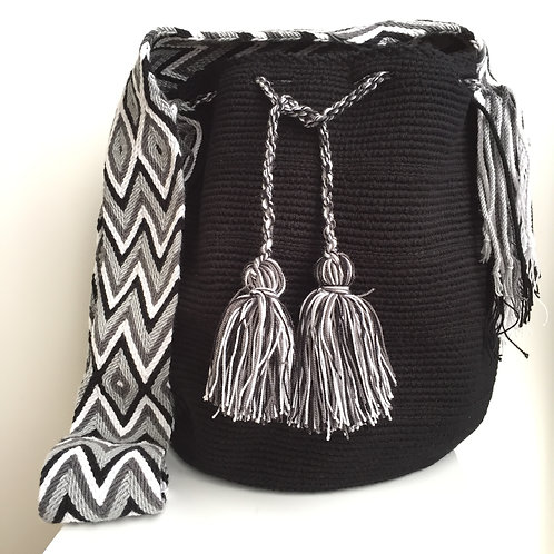 Pantera - Singlecolour Wayuu Bag