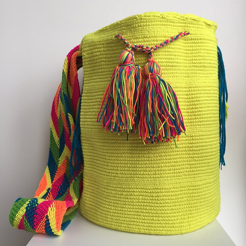 Insolada - Singlecolour Wayuu Bag