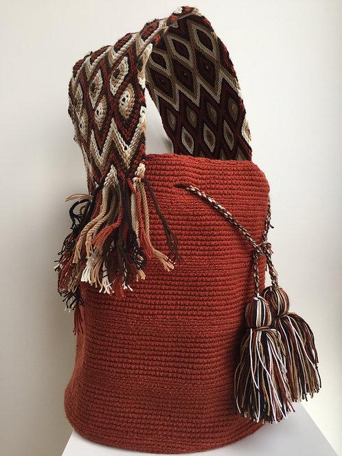 Tierra Nuestra - Wideforearm Wayuu Bag