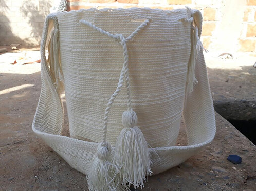 Arena del Cabo - Singlecoloured Wayuu Bag