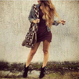Sexy dress con mochila