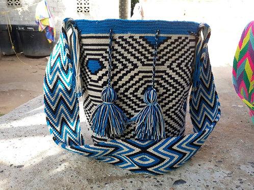Sky Spider - Patterned Wayuu Bag