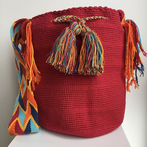 Brotherhood - Singlecolour Wayuu Bag