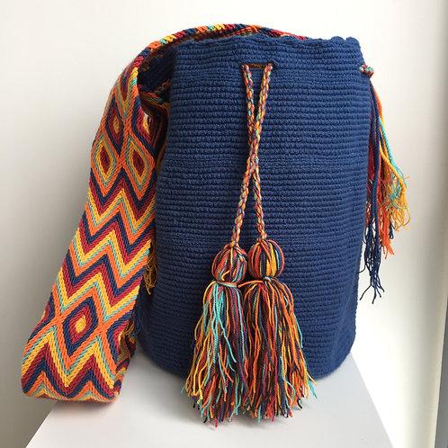 Gorgona - Singlecolour Wayuu Bag