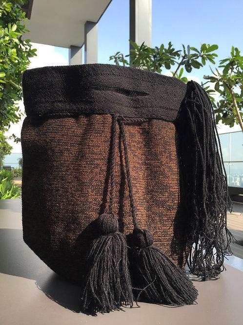 Black & Brown - Wayúu Handpurse