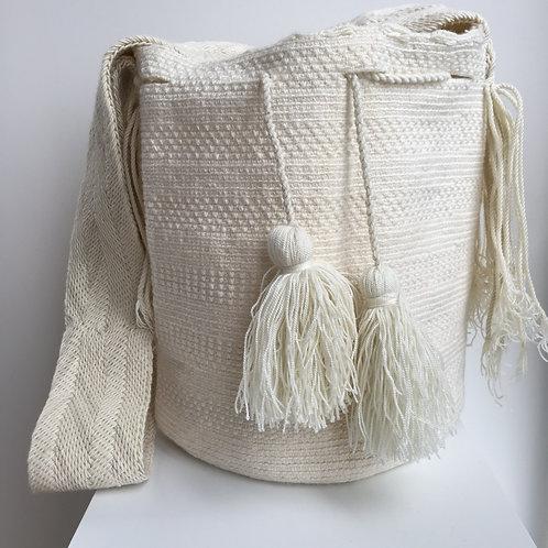 Huesos - Singlecolour Wayuu Bag