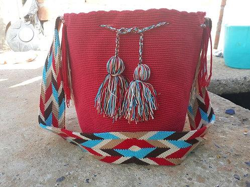 Rey Guajiro - Singlecoloured Wayuu Bag