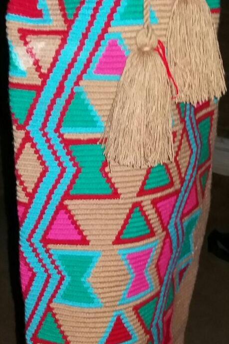 Camino al Color - Yoga Mat Wayuu Bag