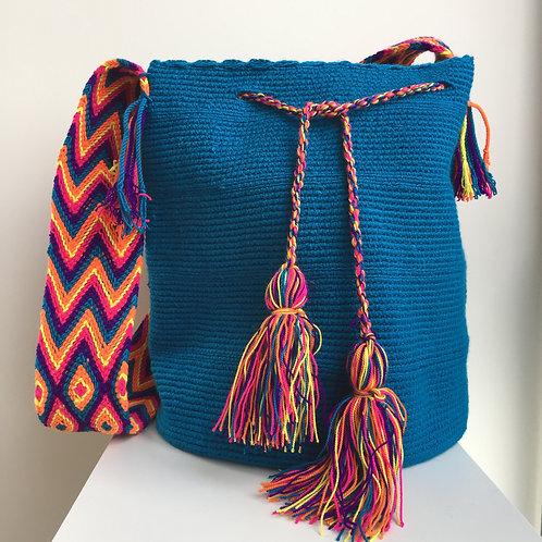 Atlántico - Singlecolour Wayuu Bag