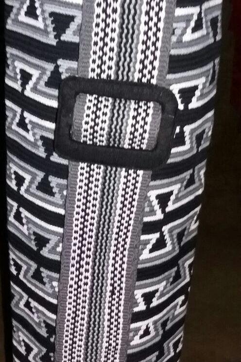 Black Flyers - Yoga Mat Wayuu Bag