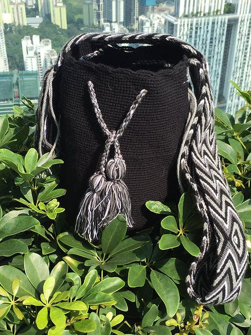 Black, White & Gray - Arijuna Handbag