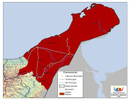 Mapa Guajira