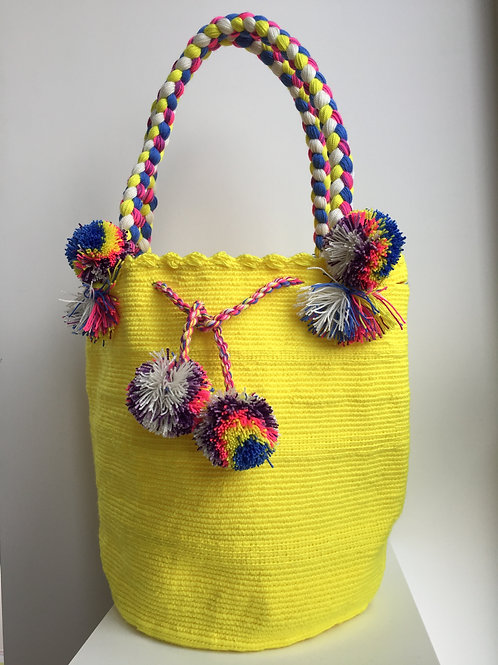 Sol - Braided Wayúu Bag