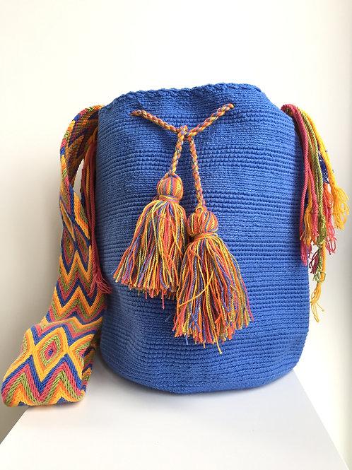 Atlántico al Sol - Singlecolour Wayuu Bag