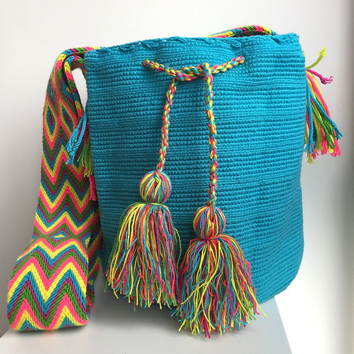 Caribe - Singlecolour Wayuu Bag