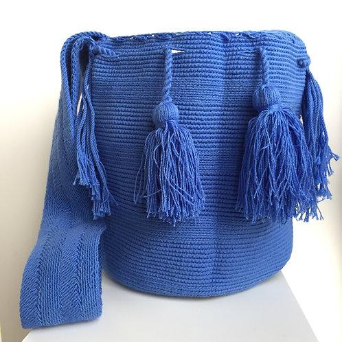Inundación - Singlecolour Wayuu Bag