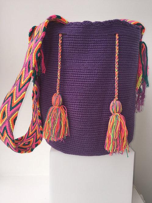 Purple - Wayúu Handbag