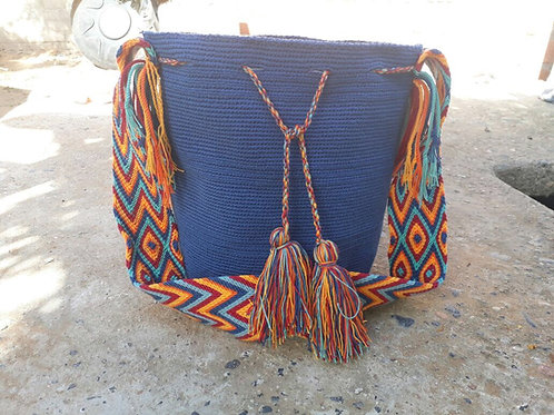 Pacífico - Singlecoloured Wayuu Bag