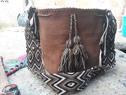 Tierra Nuestra - Singlecoloured Wayuu Bag
