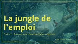 La jungle de l'emploi 2 - Recevoir une réponse