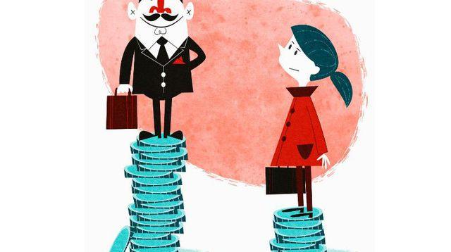 A profession équivalente, les femmes perçoivent encore un salaire horaire de 10 % inférieur à celui d'un homme