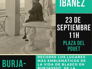 Vuelve la Ruta Blasco Ibáñez en Burjassot
