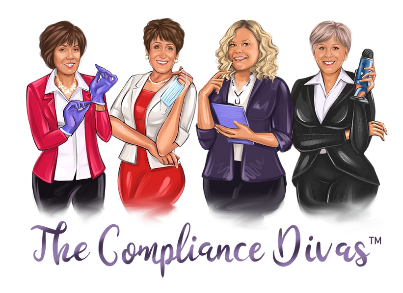 Compliance Divas, Linda Harvey, Leslie Canham, Mary Govoni, Olvia Wann, HIPAA, OSHA, Dental