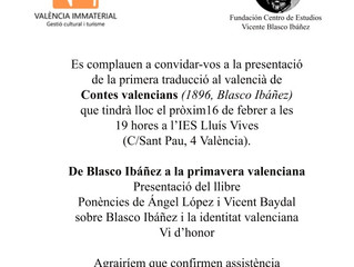 Presentación Contes valencians II