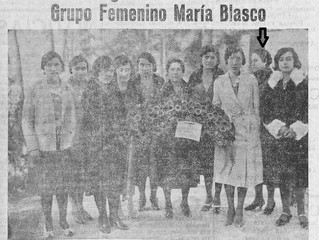 "Mujeres Blasquistas: El grupo republicano ""Mª Blasco"" de Burjassot"