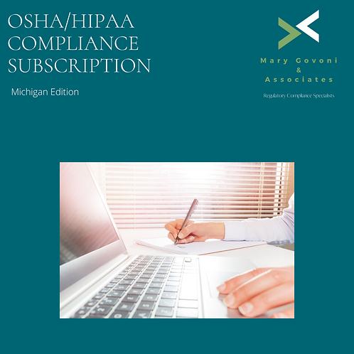 OSHA/HIPAA Compliance Michigan Dental