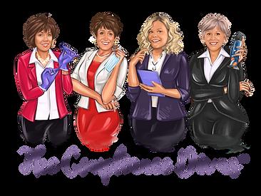 Compliance Divas, Linda Harvey, Leslie Canham, Mary Govoni, Olvia Wann